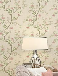 Tapete Bäume/Blätter Tapete Zeitgenössisch Wandverkleidung,Nicht-gewebtes Papier ja
