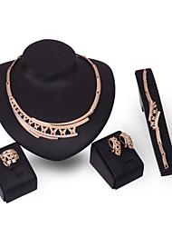 XIXI Women Vintage / Cute / Party / Alloy / Cubic Zirconia Necklace / Earrings / Bracelet / Ring Jewelry Sets