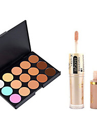 Concealer/Contour Matte / Shimmer CreamSun Protection / Coverage / Whitening / Oil-control / Long Lasting / Concealer / Natural / Dark
