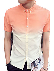DMI™ Men's Lapel Color Block Casual Shirt(More Colors)