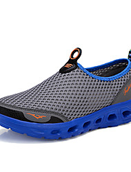 Men's Shoes Casual/Travel/Outdoor/Running Tulle Leather Fashion Sneakers Slip-on Shoes 39-46