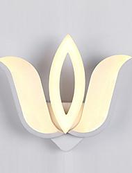 Acrylic LED Wall Light  Modern  Water Lily Bedside Lamp Corridor Lights AC86-265V