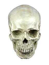 Маски Скелет/Череп Фестиваль / праздник Костюмы на Хэллоуин Цвет слоновой кости Однотонный Маски Хэллоуин Универсальные