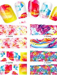 Jóias de Unhas-Desenho Animado / Adorável- paraDedo- deOutro- com8pcs-7*6.5cm