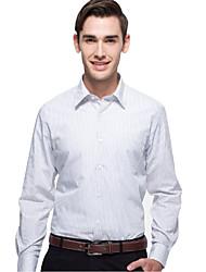 JamesEarl Herren Hemdkragen Lange Ärmel Shirt & Bluse Weiß - MC1ZC000126