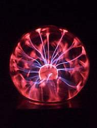 Magic Glass Plasma Ball Sphere England 4-Inch Electronic Magic Ball Creative Crafts Ornaments Birthday Gift for Kids