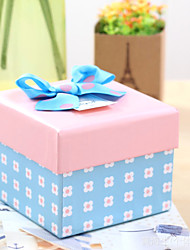1 Piece/Set Favor Holder-Cubic Card Paper Gift Boxes Non-personalised