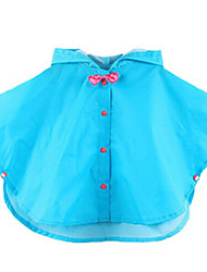 Girl's Blue / Red / Yellow Trench Coat Polyester All Seasons