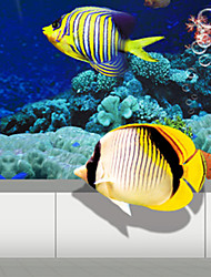 JAMMORY 3D Wallpaper For Home Contemporary Wall Covering Canvas Material The underwater world3XL(14'7''*9'2'')