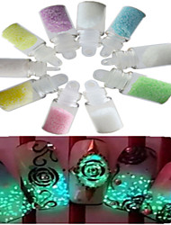 1 Set (10 Bottle)  Nail Art Glitter Shinning Decoration Nail Art Beauty Tools NC173