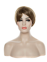 Fashion Mix-clolor  Stylish Short Straight  Synthetic Hair Wigs