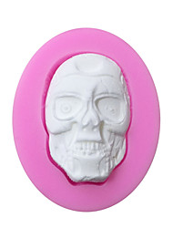 Zombie Shaped Silicone Fondant Cake Cake Chocolate Silicone Molds,Decoration Tools Bakeware
