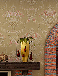 Contemporary Wallpaper Art Deco 3D Warm Big Flower Wallpaper Wall Covering Non-woven Fabric Wall Art