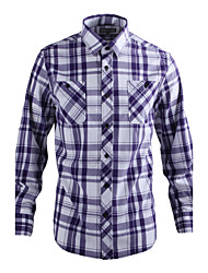 JamesEarl Herren Hemdkragen Lange Ärmel Shirt & Bluse Lila - DA112007518