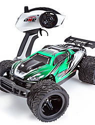 Buggy SUBOTECH BG1508 1:12 Brush Electric RC Car 2.4G Green / Red Ready-To-GoRemote Control Car / Remote Controller/Transmitter / Battery