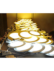 High quality 6W Round NON-dimmable LED Panel light 2800-6500K SMD 2835 Epistar chip AC85-265V