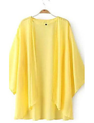 Women's Loose Cardigan Chiffon SunScreen Plus Size Top