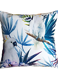 New Design Print Birds Parrot Decorative Throw Pillow Case Cushion Cover for Sofa Home Decor Soft Material