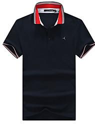 Extérieur Homme Hauts/Tops / T-shirt POLO / T-shirt Camping & Randonnée / Golf / Sport de détente / Cyclisme/Vélo / CourseRespirable /