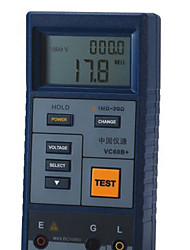 eone vc60b + синий для сопротивления изоляции мегомметром