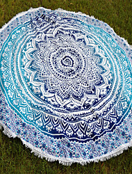 Couverture-as describtion- en100% Coton-Multicolore
