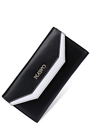 Nawo Donna Vacchetta Porta assegni Nero-N352131