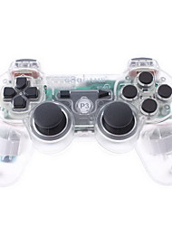 GoiGame Wireless DoubleShock 3 Controller for PS3 (Transparent)