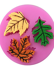 Maple Leaf Shaped Silicone Fondant Cake Cake Chocolate Silicone Molds,Decoration Tools Bakeware