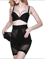 Shaperdiva Women's High Waist Long Leg Shapewear Tummy Control Panties