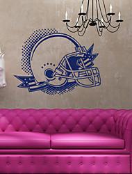 4049 Top Sale Amerian Football Helmet Wall Stickers Decals Vinyl Sticker Home Decor Wallpaper For Bedroom