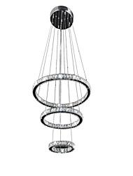 LED Crystal Pendant Light Modern Chandelier Lighting Lamps Cool White Round Ceiling Lights Fixtures 203040