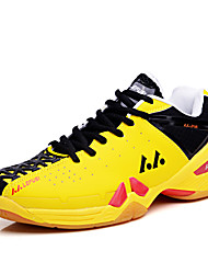 Men's Shoes Tennis/Badminton/Athletic Profession Synthetic Leather Sneaker Running Shoes Yellow/Orange/Fuchsia 39-45