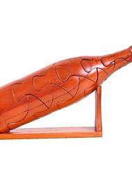 bouteille de vin rouge cadeau vin à la main des enfants d'âge préscolaire éducatif modèle de jouet en bois 3D Puzzle