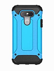 Для Кейс для LG Защита от удара Кейс для Задняя крышка Кейс для Армированный Твердый PC для LG LG G5