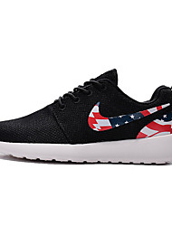 Nike Roshe One USA Flags Mens Running Shoes Black White Red Gray