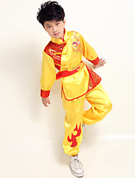 Performance Outfits Children's Performance Satin Sash/Ribbon 3 Pieces Long Sleeve Pants / Top / BeltXS:41cm S:44cm M:48cm L:51cm XL:54cm