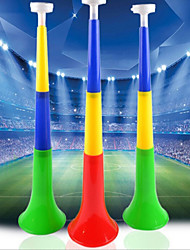 Plastic Cherring Horn for EURO World Cup Olympics Fans 5pcs/set (Random Color)