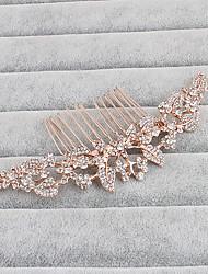 Mujer Diamantes Sintéticos Celada-Boda Ocasión especial Casual Oficina Al Aire Libre Peinetas 1 Pieza