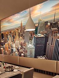 jammory paysage grand paysage murale de grande hauteur / encore peintures murales de la vie des couleurs chaudes toile 3d fond d'écran