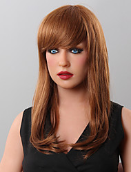 Capless  Wave Human Hair Wigs  9 Colors to Choose