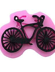 Mountain Bike Cartoon  Sugar Eggs Style Candy Fondant Cake Molds  For The Kitchen Baking Molds