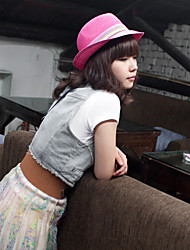 Women Straw Lively Fedora Hat,Cute / Party / Casual Spring / Summer / Fall