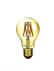 E26 E27 220V A19 2200K-2700K Warm White 200-500lm 6W 8LED Light Bulb Edison
