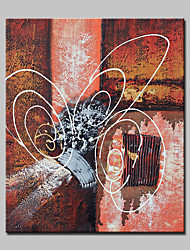 Lager Hand-painted Abstract Oil Painting On Canvas Wall Art Picture For Living Room Home Decor Wall Paintings Whit Frame