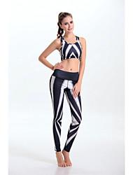 Women's Fashion High Elasticity Yoga Clothing Sets/Suits