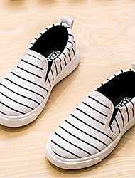 Boy's / Girl's Loafers & Slip-Ons Spring / Summer Comfort Canvas Casual Slip-on Black / Red / White