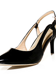 Women's Shoes Stiletto Heel Heels/Sling back/Pointed Toe Sandals/Flats Party & Evening/Dress Black/Green/Fuchsia
