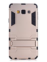 Pour Samsung Galaxy Coque Antichoc / Avec Support Coque Coque Arrière Coque Armure Polycarbonate Samsung A9 / A8 / A7