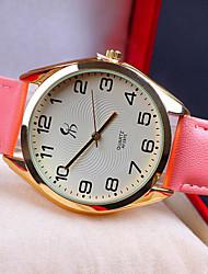 coreano moda relógio de lazer cinto da mulher