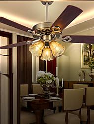 max60w Ventilador de teto ,  Retro Outros Característica for Designers MetalSala de Estar / Quarto / Sala de Jantar / Cozinha / Quarto de